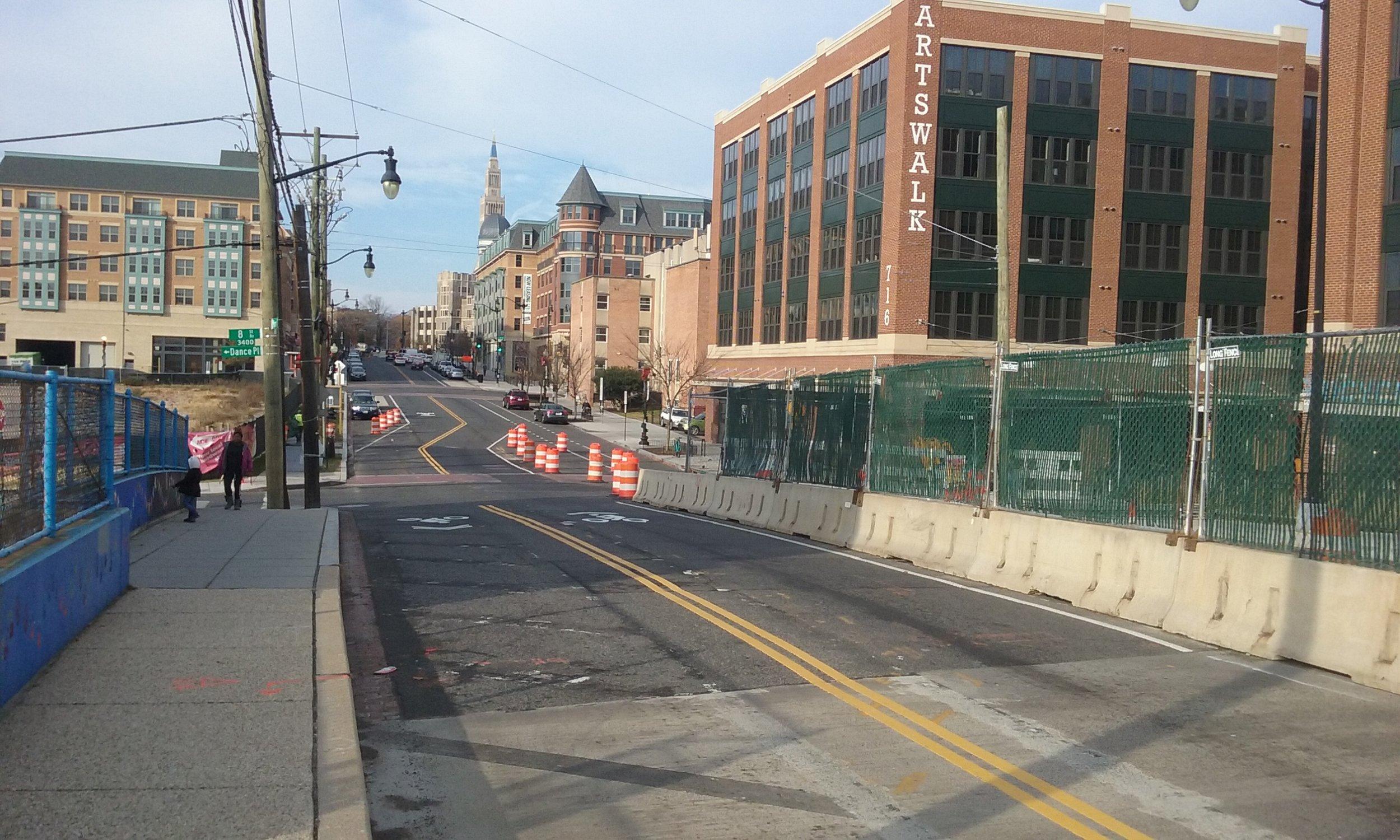 Maintenance of Traffic at 8h & Monroe