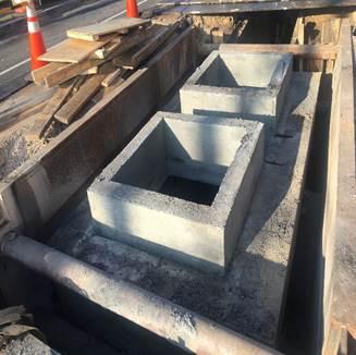 Pepco vault manhole at 8th & Monroe