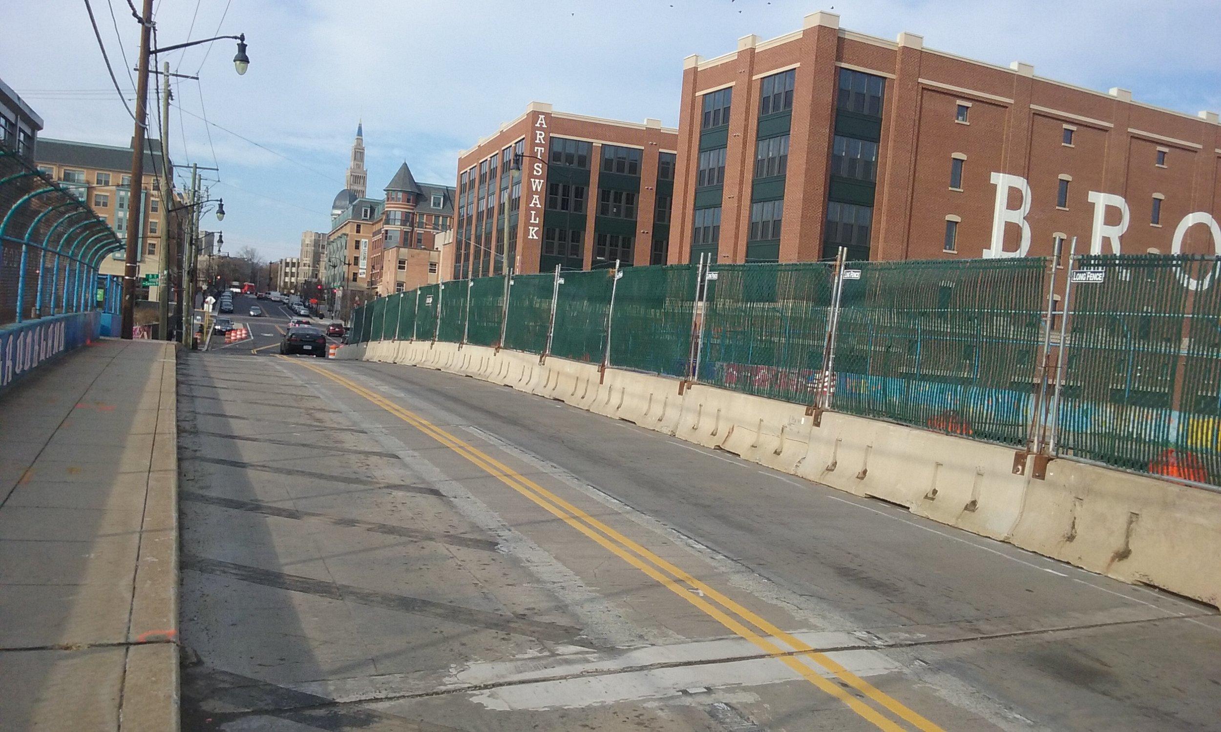 Maintenance of Traffic on Monroe Stree Bridge