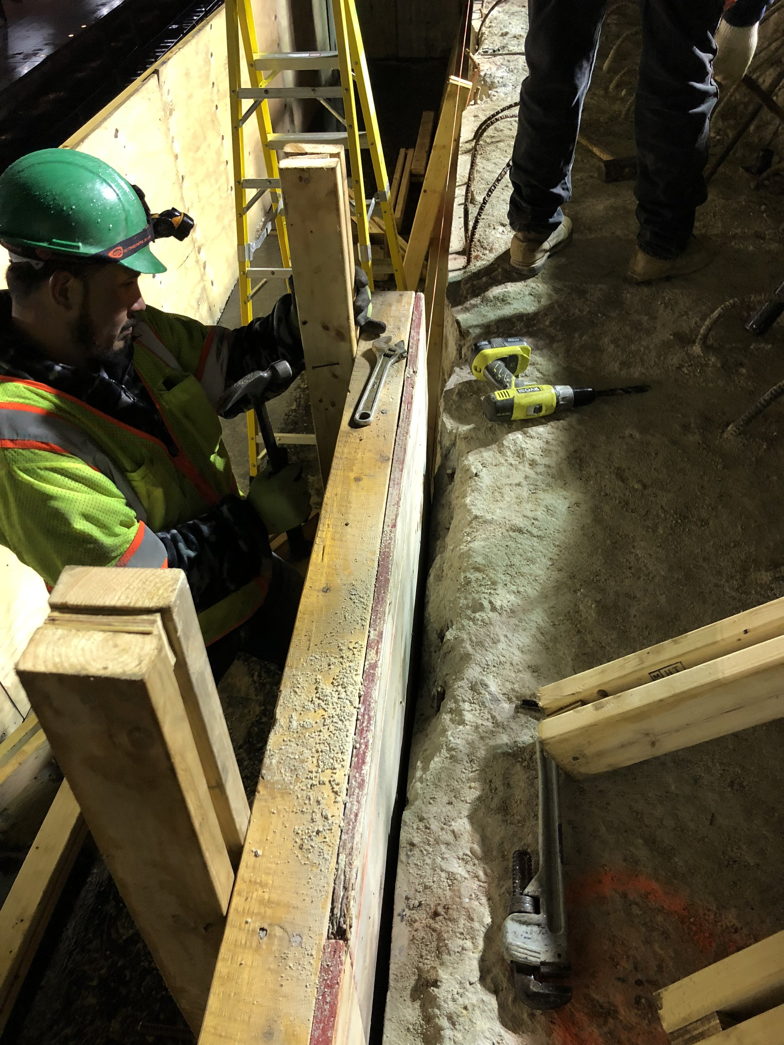 Abutment forming