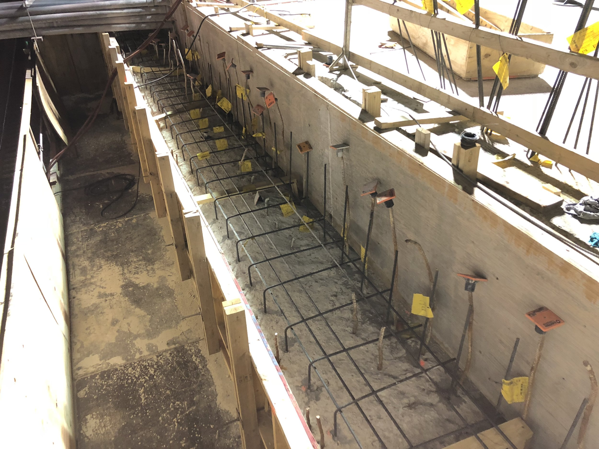 Abutments forming
