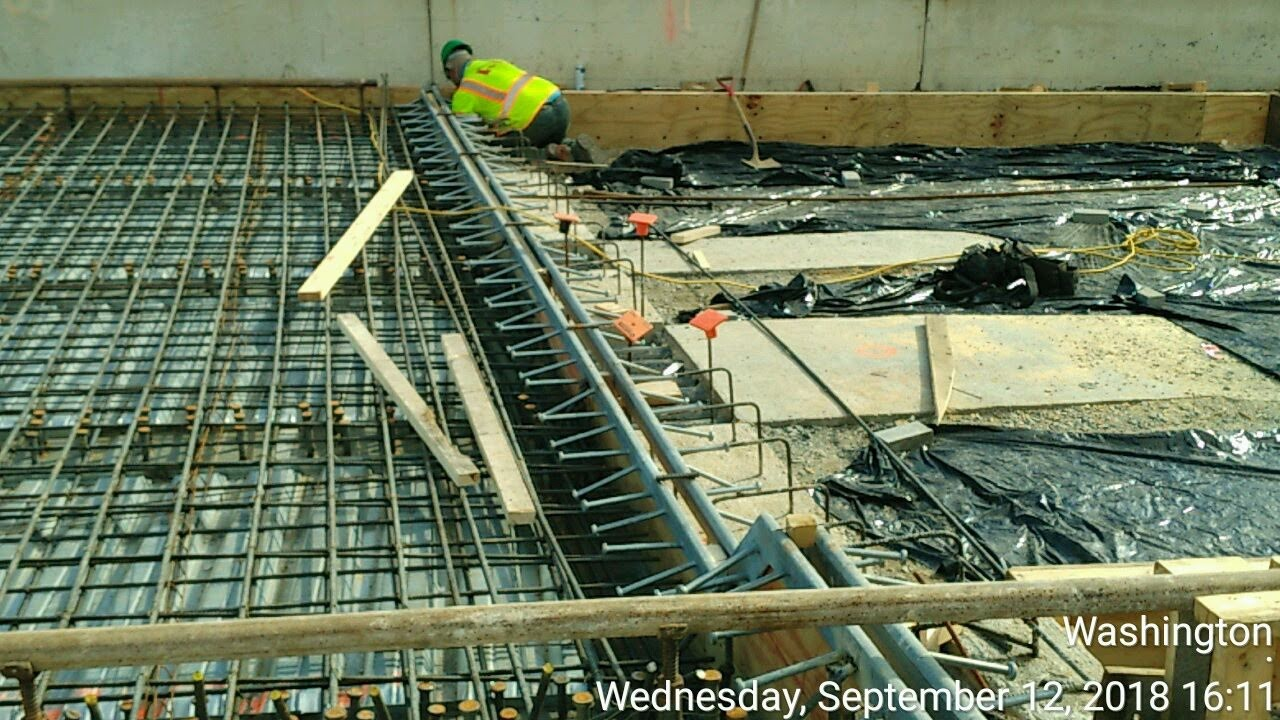 West Approach Expansion Joint installation (North Side)