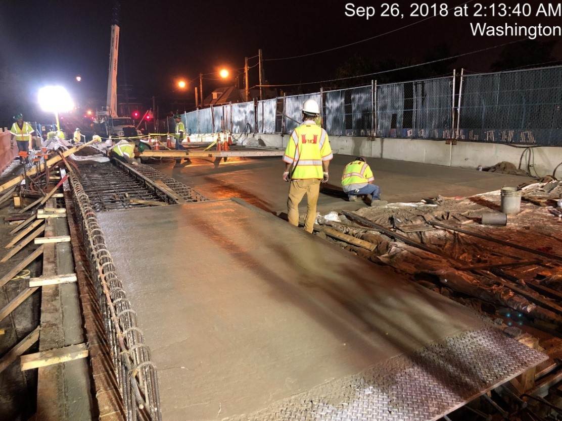Deck Concrete Pour #3 (North)