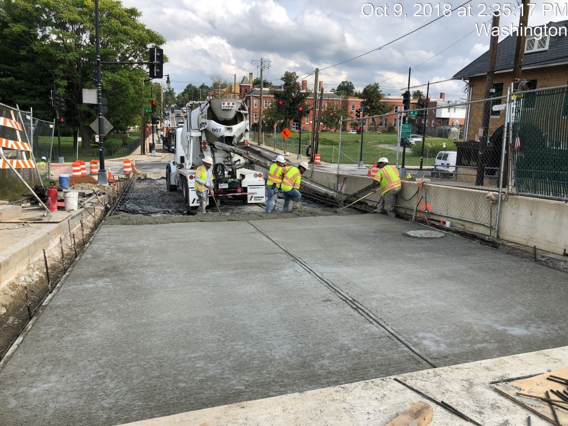 Sidewalk Removal (9th Street SW Corner)