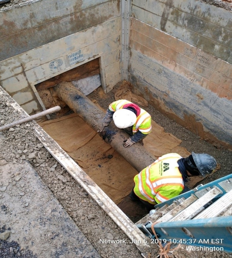 WGL Ongoing Work at West End (South Side)