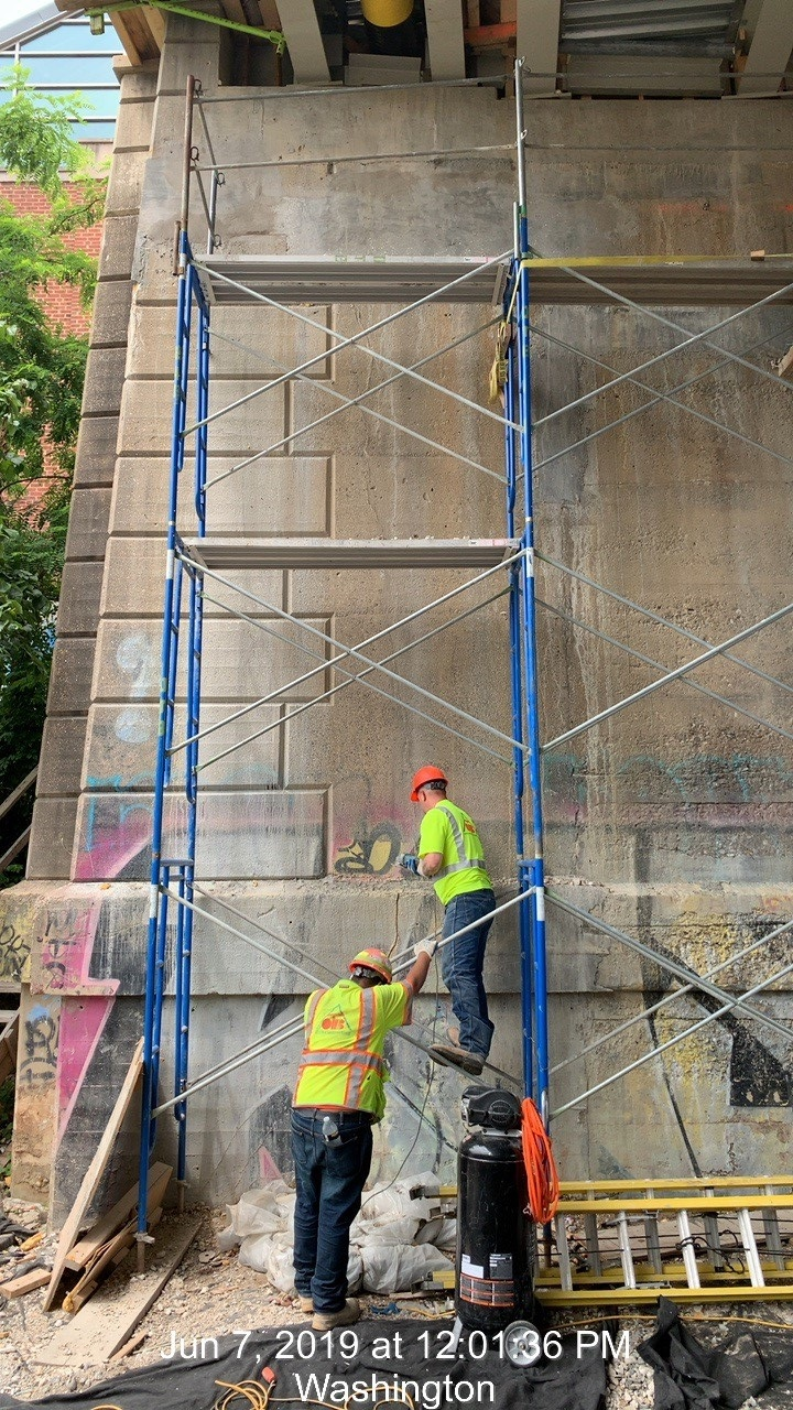 Concrete Repair (West Abument Phase 2)