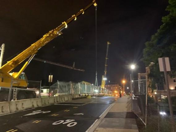 Reconstruction of Monroe Street Bridge NE Over Railroad