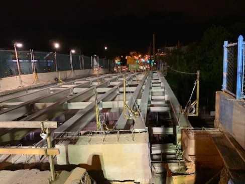 Phase 2 Steel Beams Installation, South Side