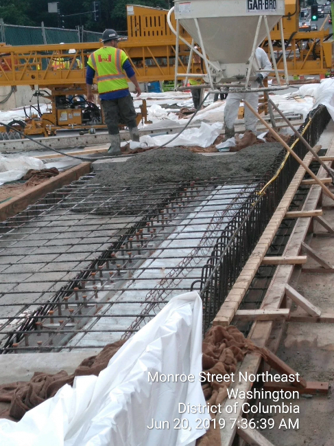 Phase 2: Sidewalk Concrete Placement #3A &3B