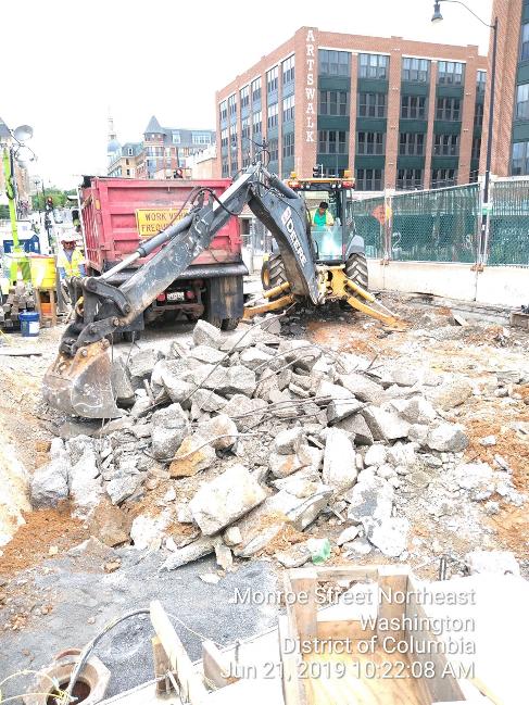 Phase 2: West Approach Slab Demolition