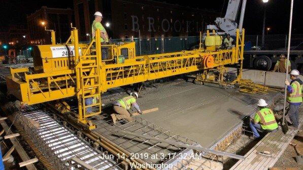 Phase 2: Deck Concrete Placement #2A &2B