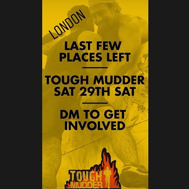 Final day to register for the London UK Man Ex Tough Mudder to help save Rhinos in Africa. Click link in bio for details and to sign up 💪🏻 or message @steve_the_brockman #manexpeditions #manexpedition #rhinorescueteam #testohsterone #londongay #gaylondon