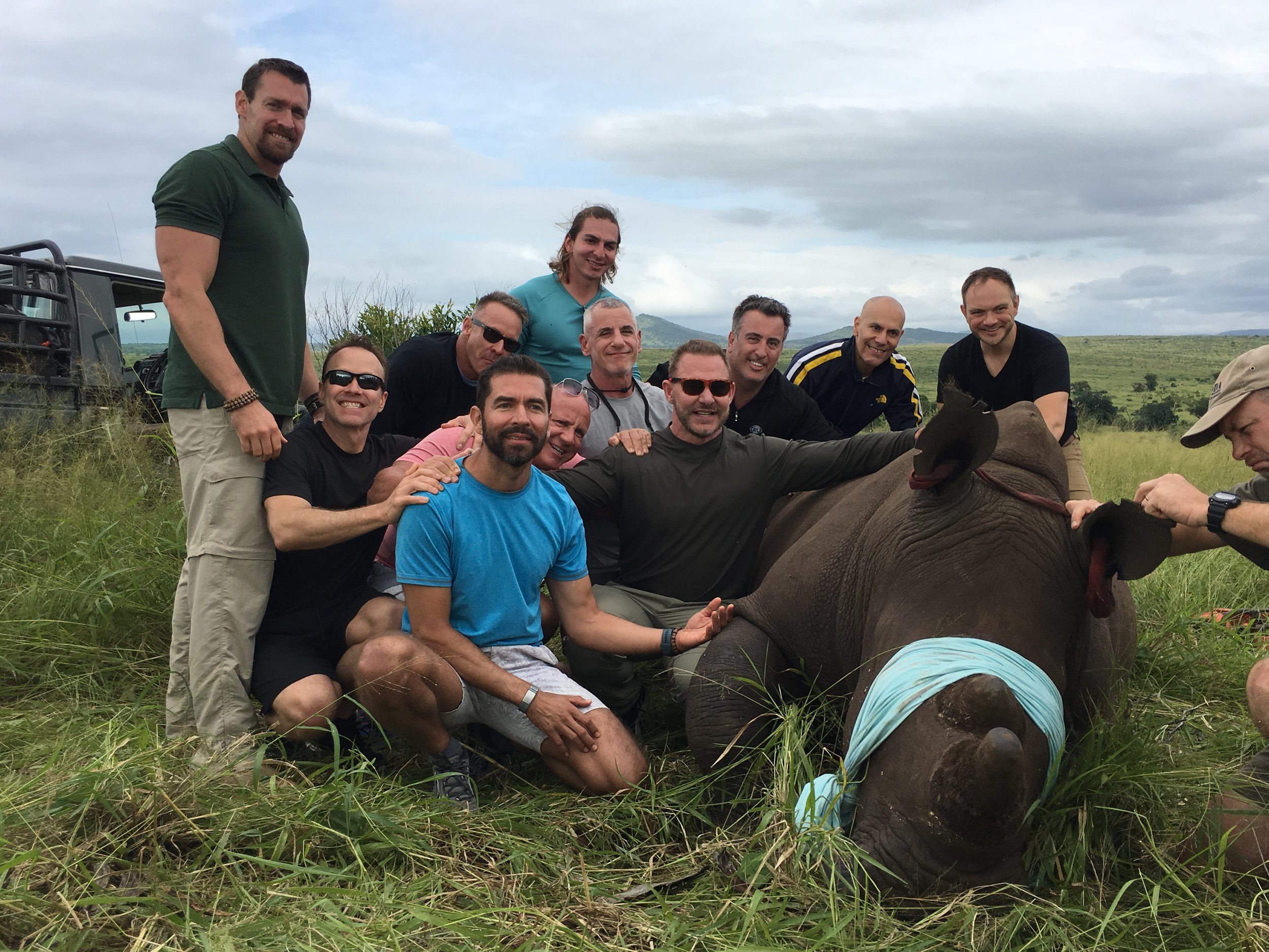 JOIN US - Man Ex will be running privately funded Rhino Project Conservation trips each year for those who want to get