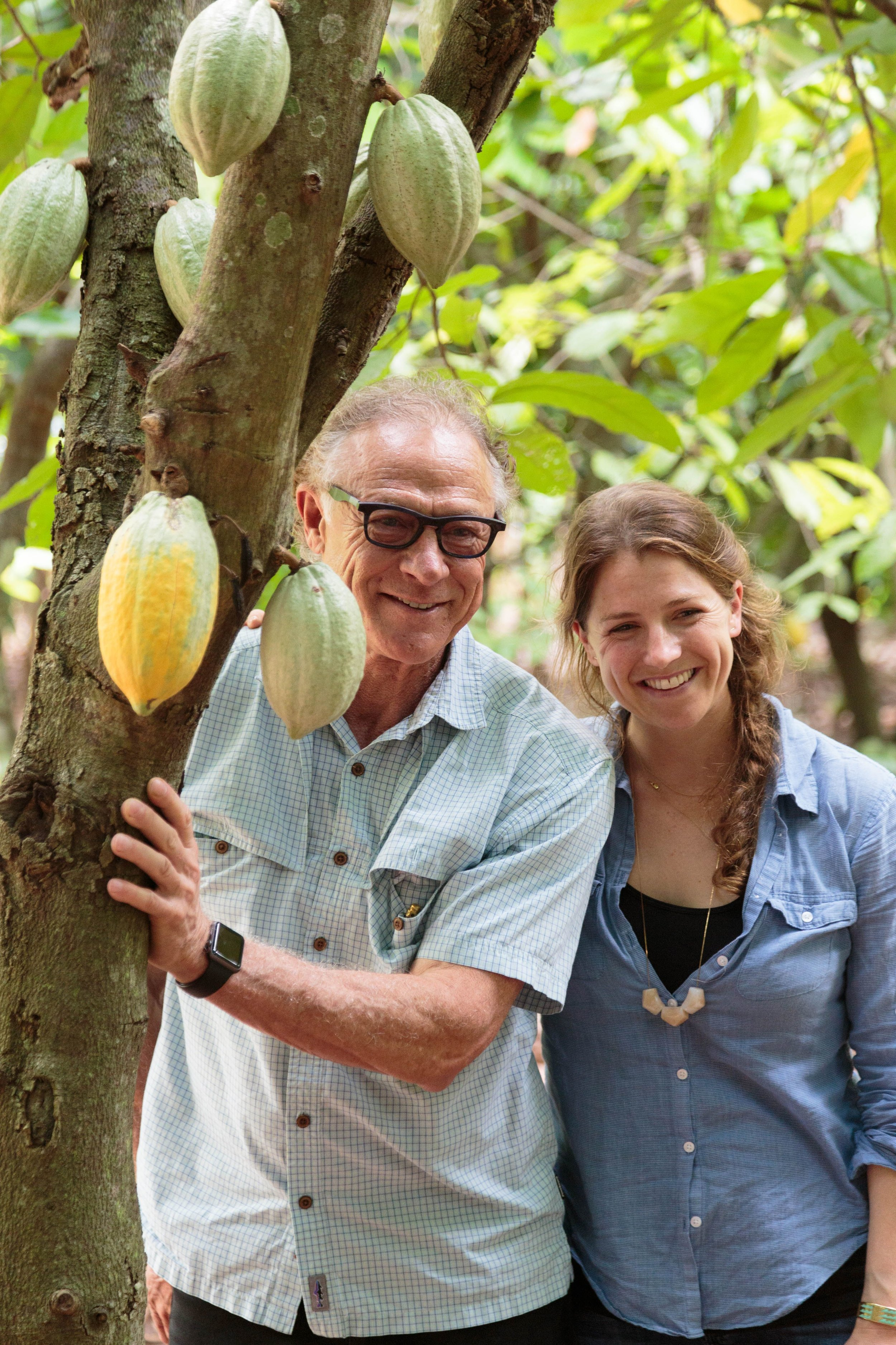 Gary Guittard and Amy Guittard. Photo credit: Guittard Chocolate Company