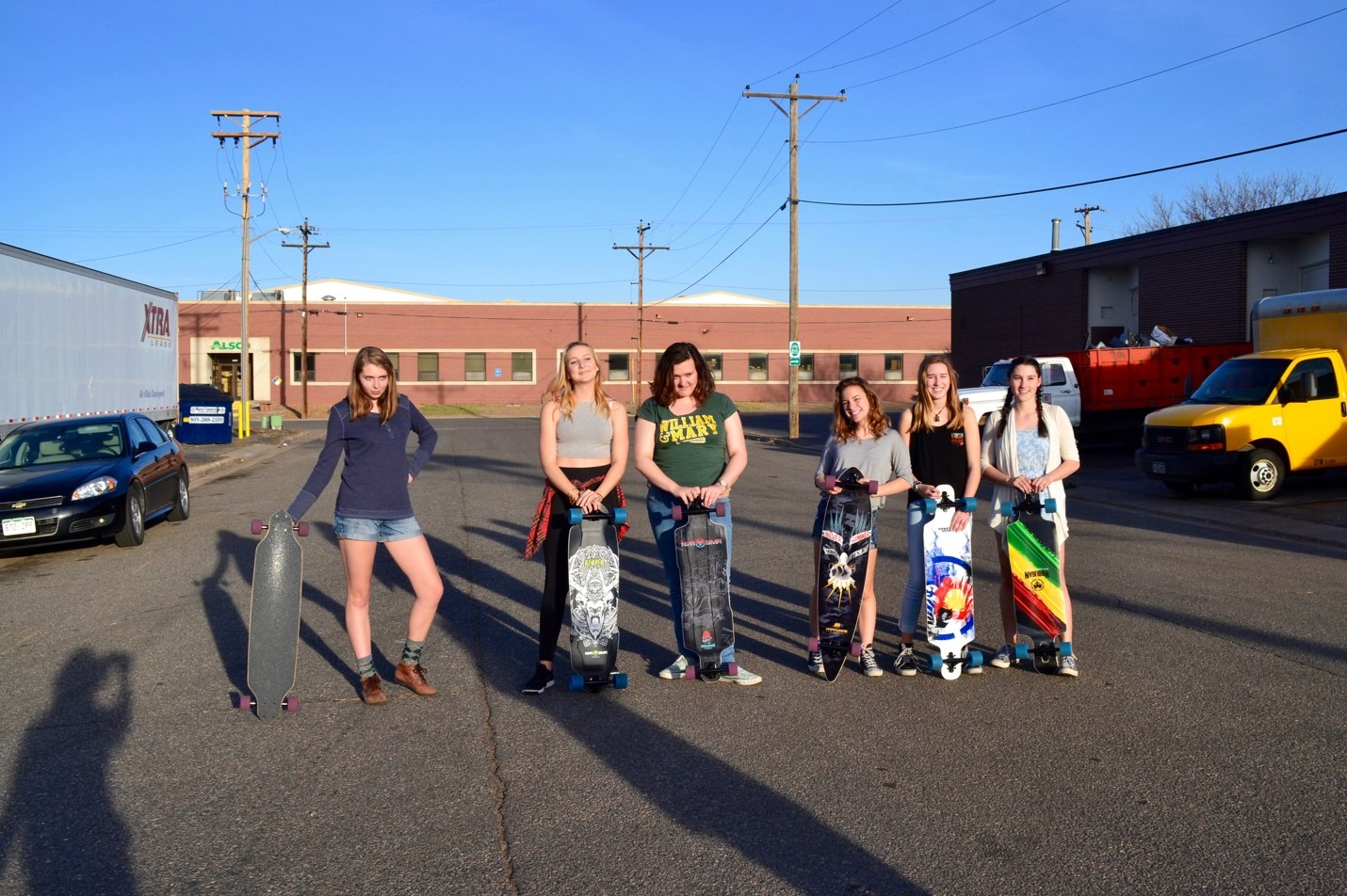 Long Boards donated by Never Summer!