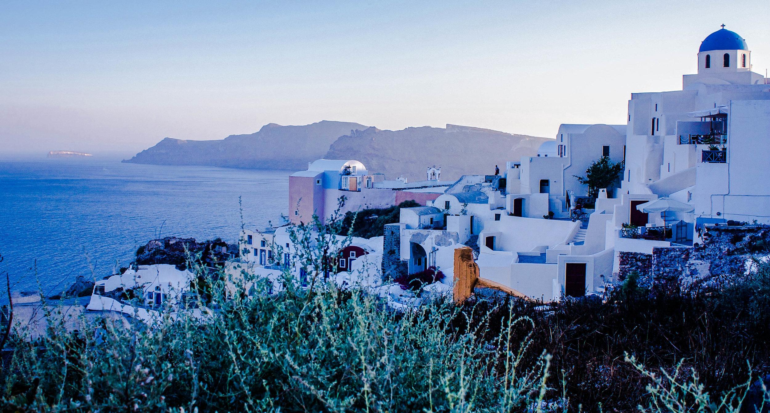 """""""Santorini landscape"""""""