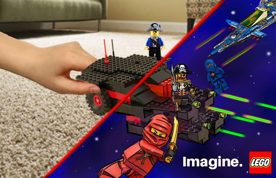 LEGO ad concept