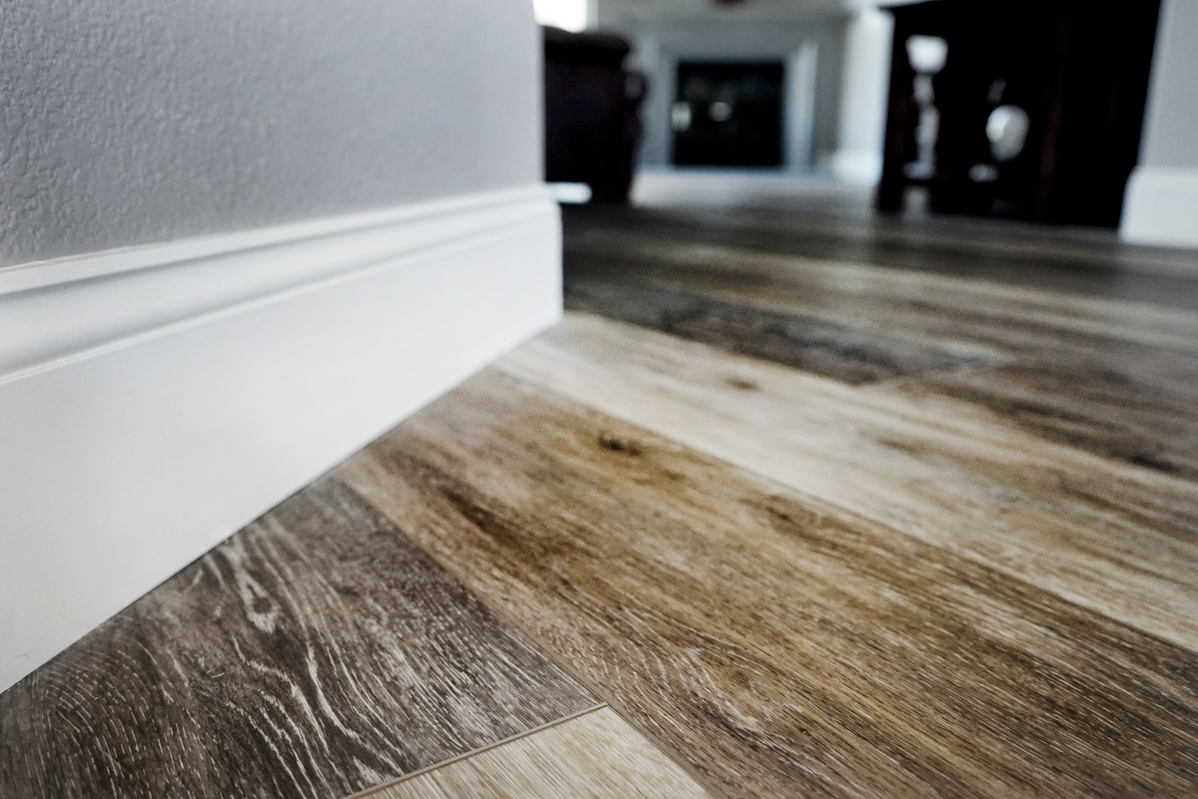 Paint & flooring by Jaureguy's. Come down to our showroom to check out paint, tile, wallpaper, and flooring samples!