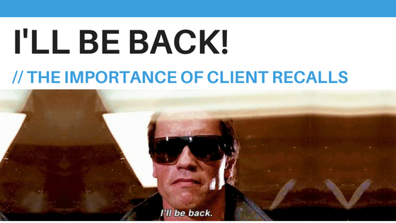 Client Recalls, Practice Management, Cliniko