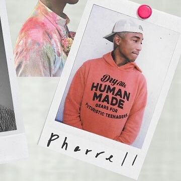 Here's Our favorite Pharrell...Because he makes us 'Happy'