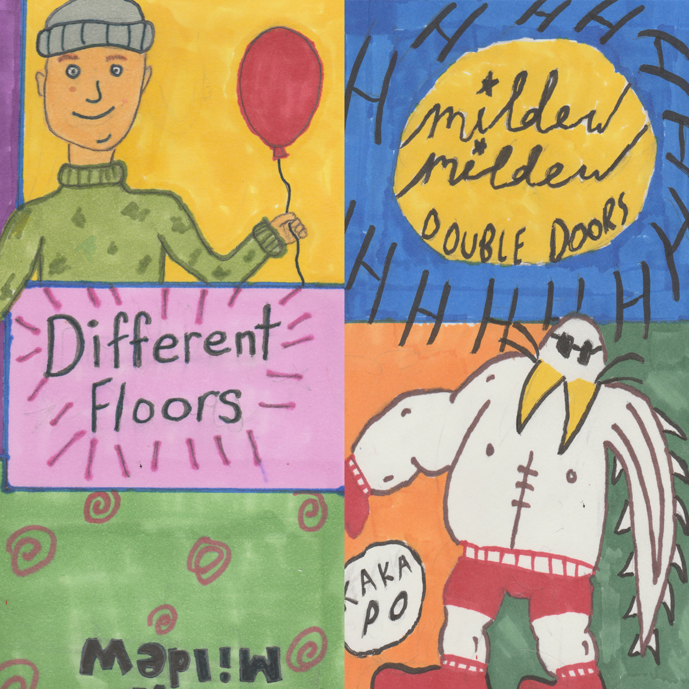 Mildew Mildew- Double Doors / Different Floors (UB 22)