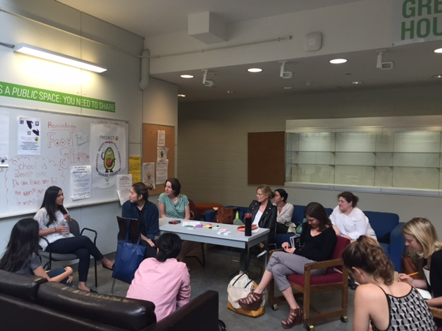 Ideation workshop for the End of Life Challenge workshop, June 2016: Where Lee Kim and Sarah Norris met for the first time