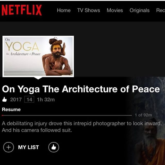Now on NETFLIX ✨  www.onyogathearchitectureofpeace.com Thank you @yogafilm @michaeloneillphoto for the opportunity we had to make all the screenings in NYC. They were magical 💫  Amazing film 🧘🏼‍♀️🙏🏻🌸 #onyogafilm #yoga #joy #meditation #mind #body #spirit #magic #yogalife #netflix #taschen