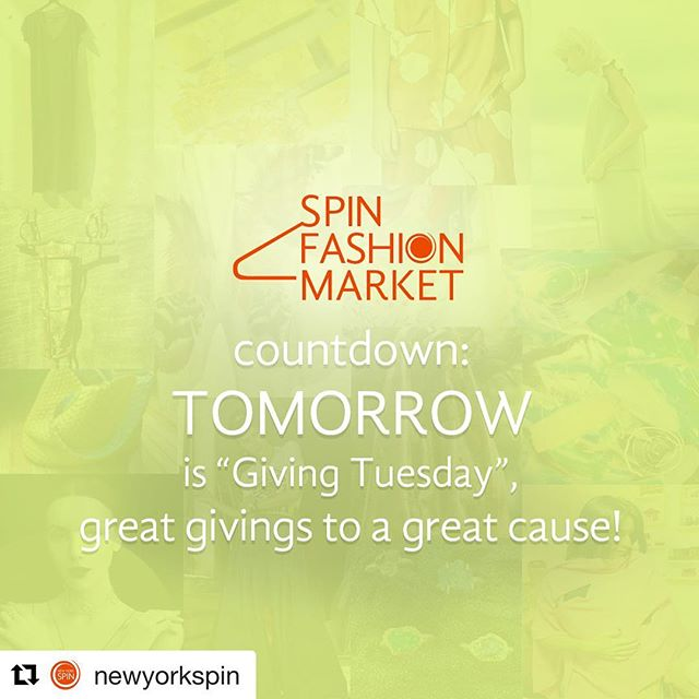 "Join us tomorrow! #Repost @newyorkspin with @repostapp Tuesday, November 28th 11am-8pm @ornarenyc A&D Building 150 E 58th St. 4th floor  Join us for the SPIN Fashion Market on ""Giving Tuesday"", November 28th. There is nothing better than shopping, having fun and doing good! #fmspin 👊🏻💃👜🎨🛍🎁 #newyorkfashion #fashion #fashiondesigner #givingtuesday #fmspin #ny #nyc #iloveny #travel #roteiros #nystyle #nycblogger #fashionist #art #cosmetics #decor #furniture #clothes #jewelry #fashionjewelry #shoppingtime #givingtuesday"