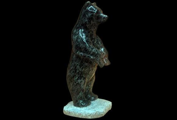 BEAR STANDING WITH BASE