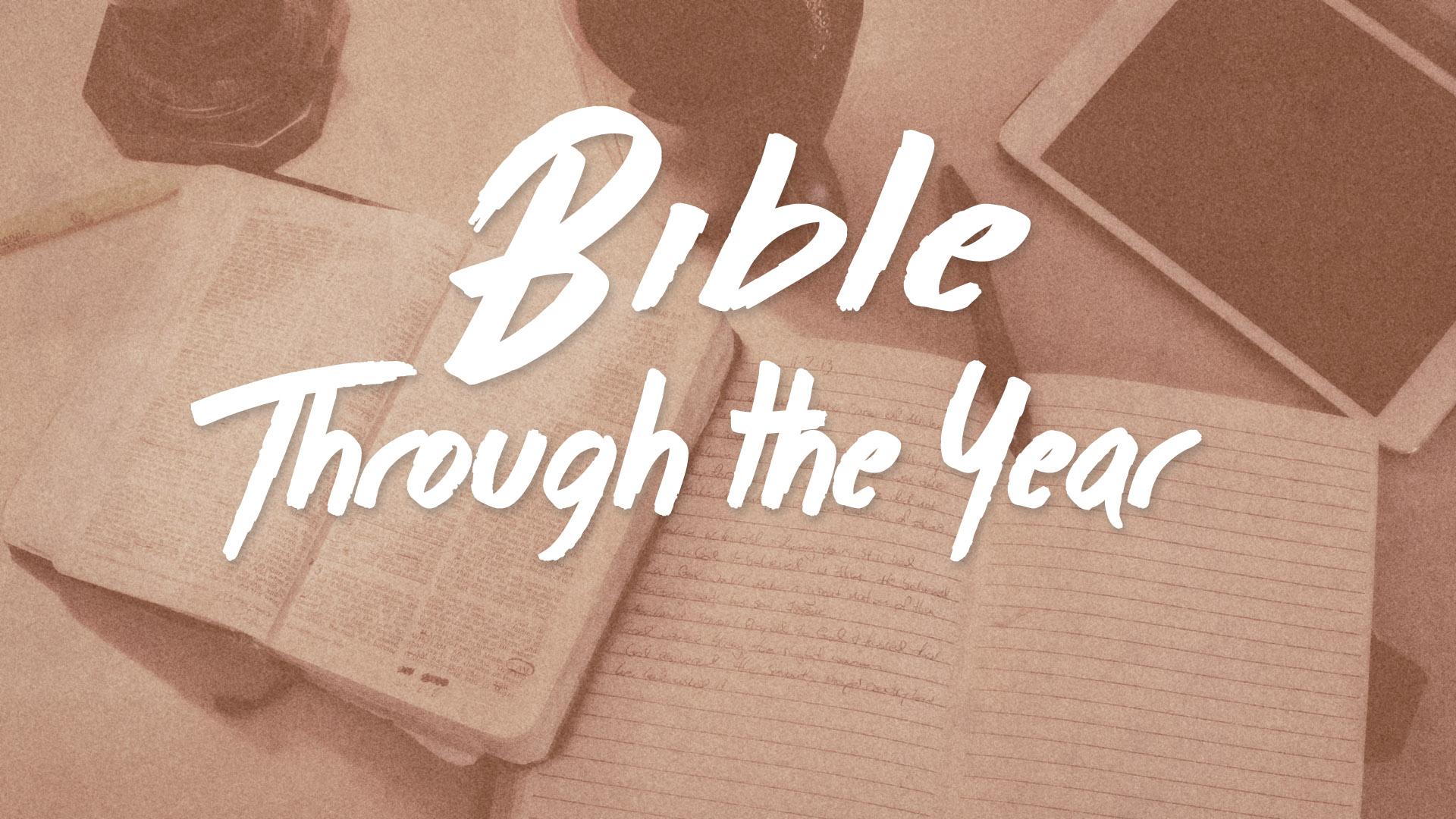 Bible Through the Year