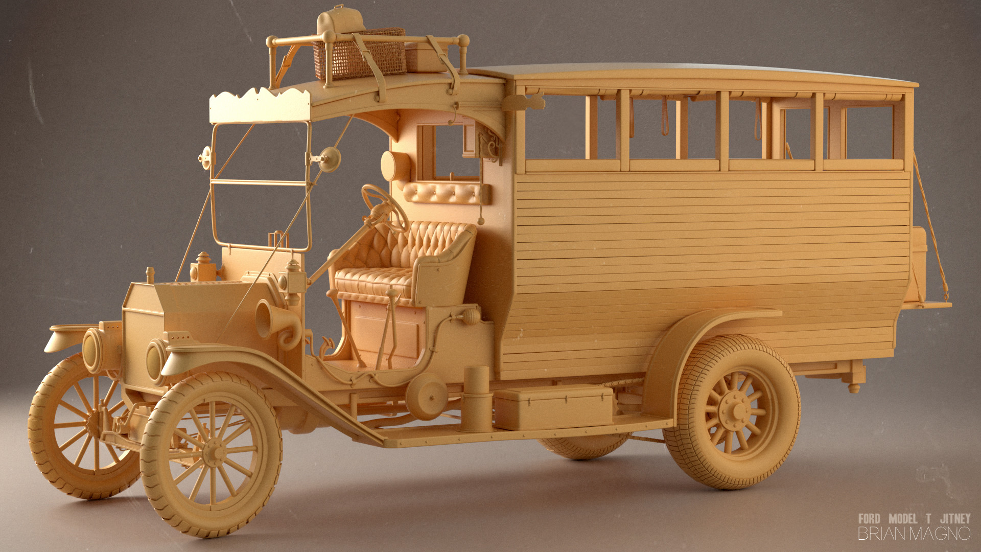 Ford T Jitney