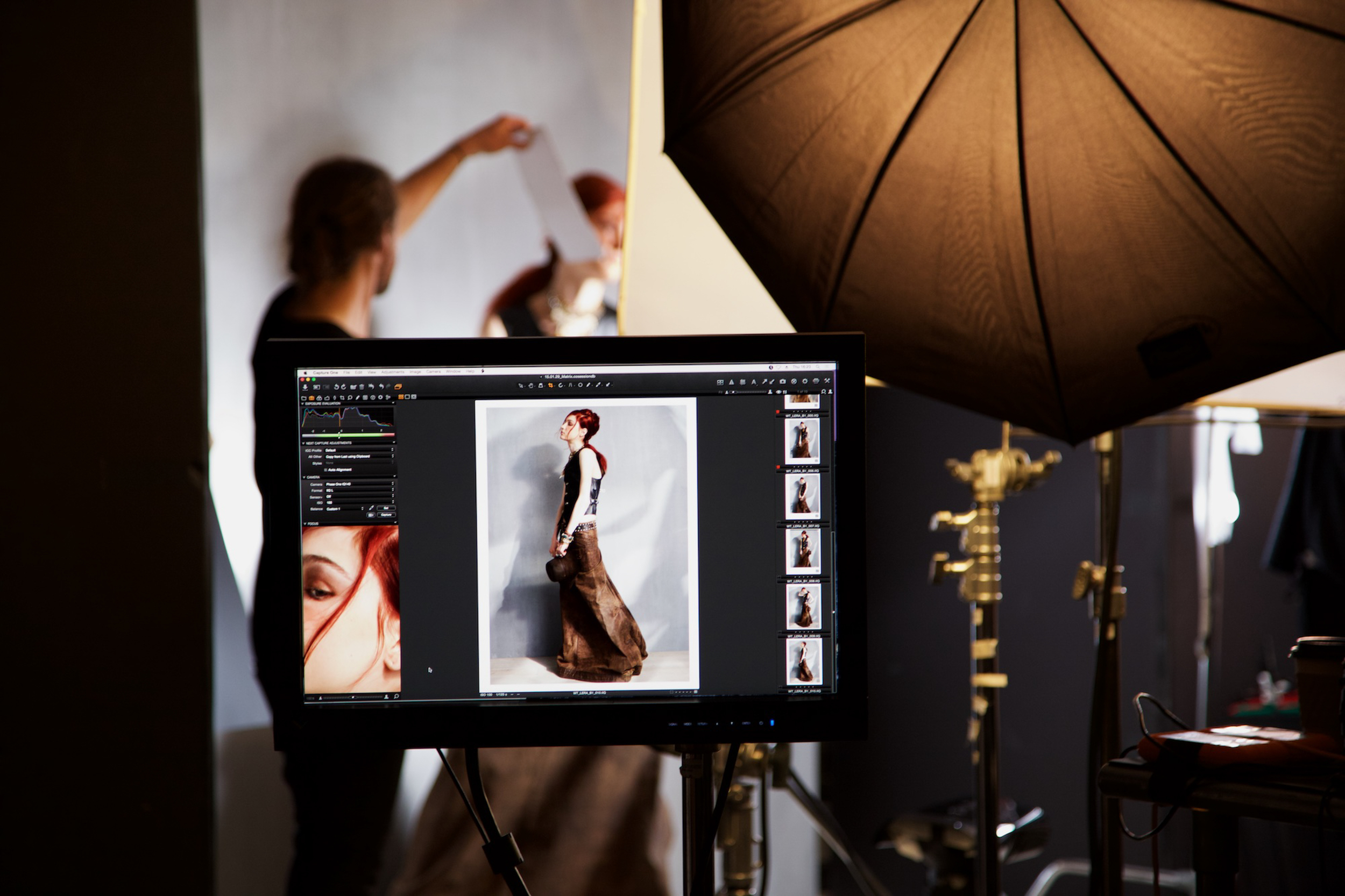 Client:  L'Oreal   Involvement: BTS Photography