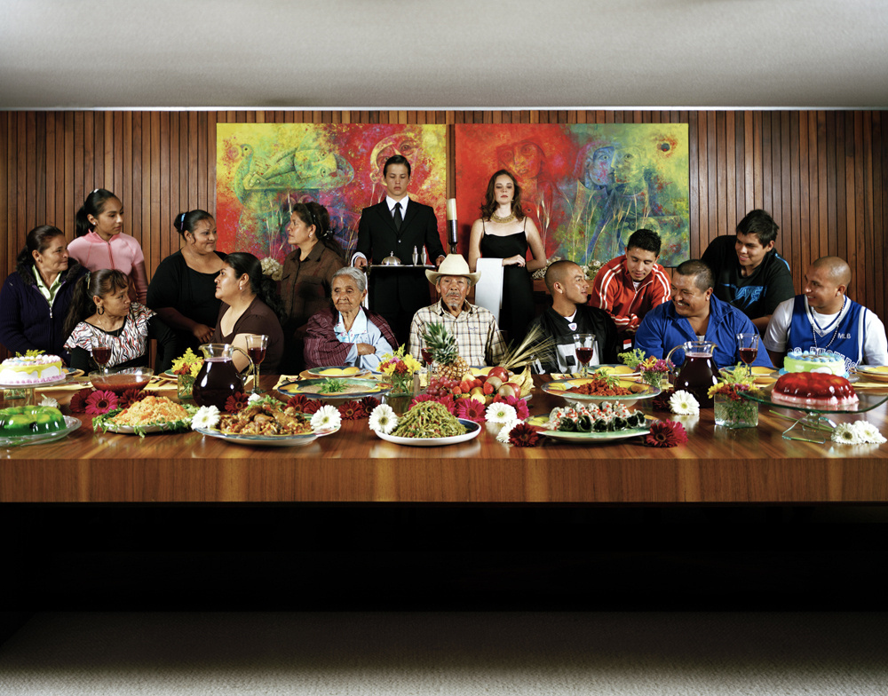 """Fine Art Series  """"Mexican Family""""    Involvement: Art direction,photography, set design, styling, post production"""