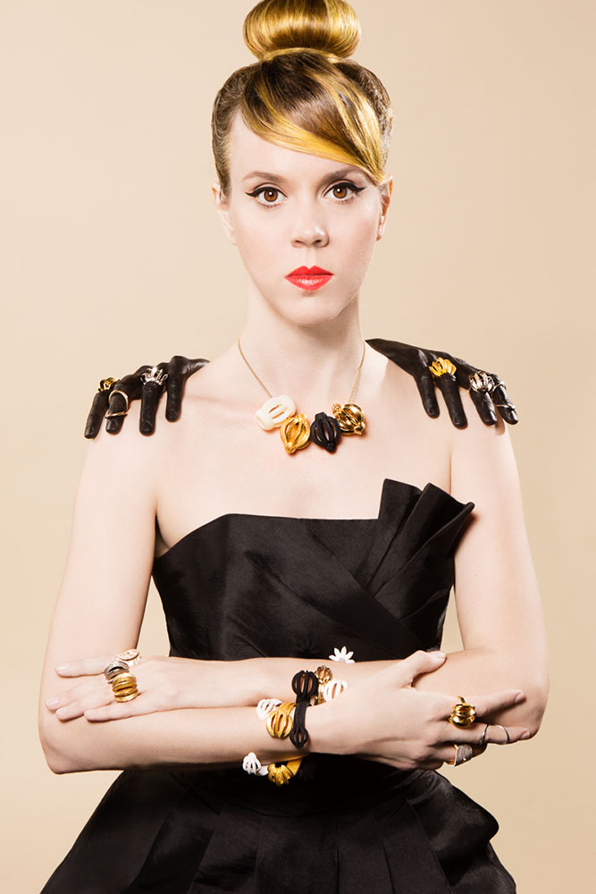 Editorial series for  Rachel Vancelette jewelry line  Involvement: Concept design, photography, hair and wardrobe styling, post production