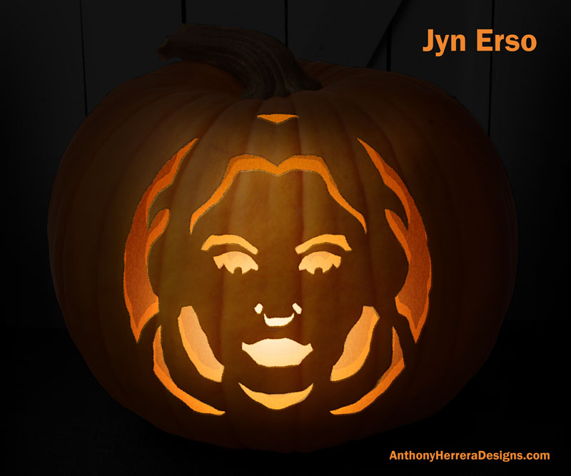 Star Wars Pumpkin Carving Templates Anthony Herrera Designs