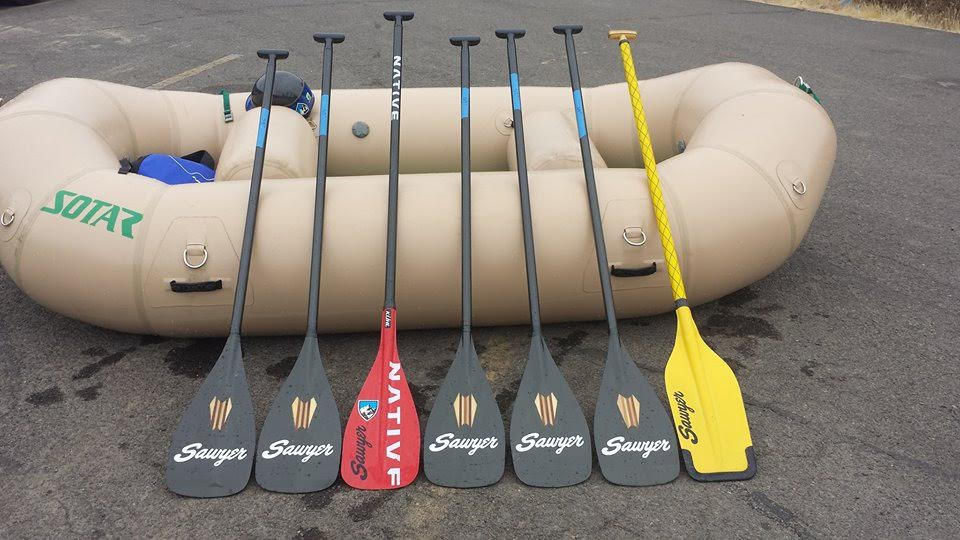 Different length paddles for different applications