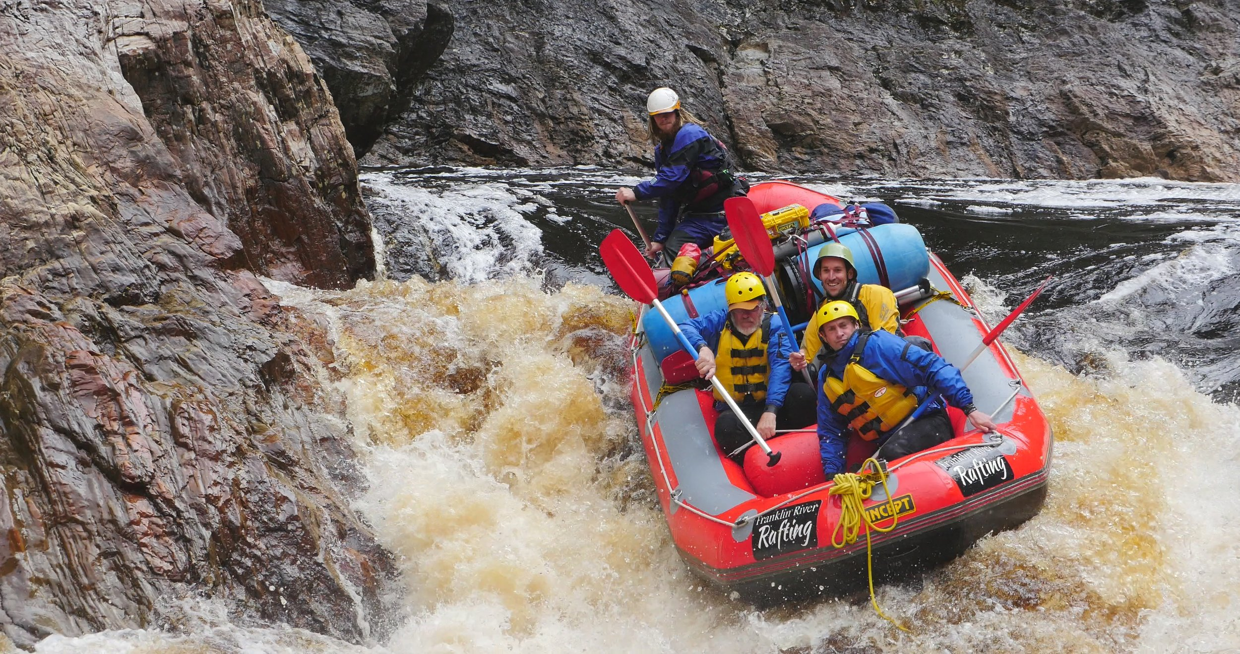 Franklin River Rafting and another great line copy.JPG .JPG