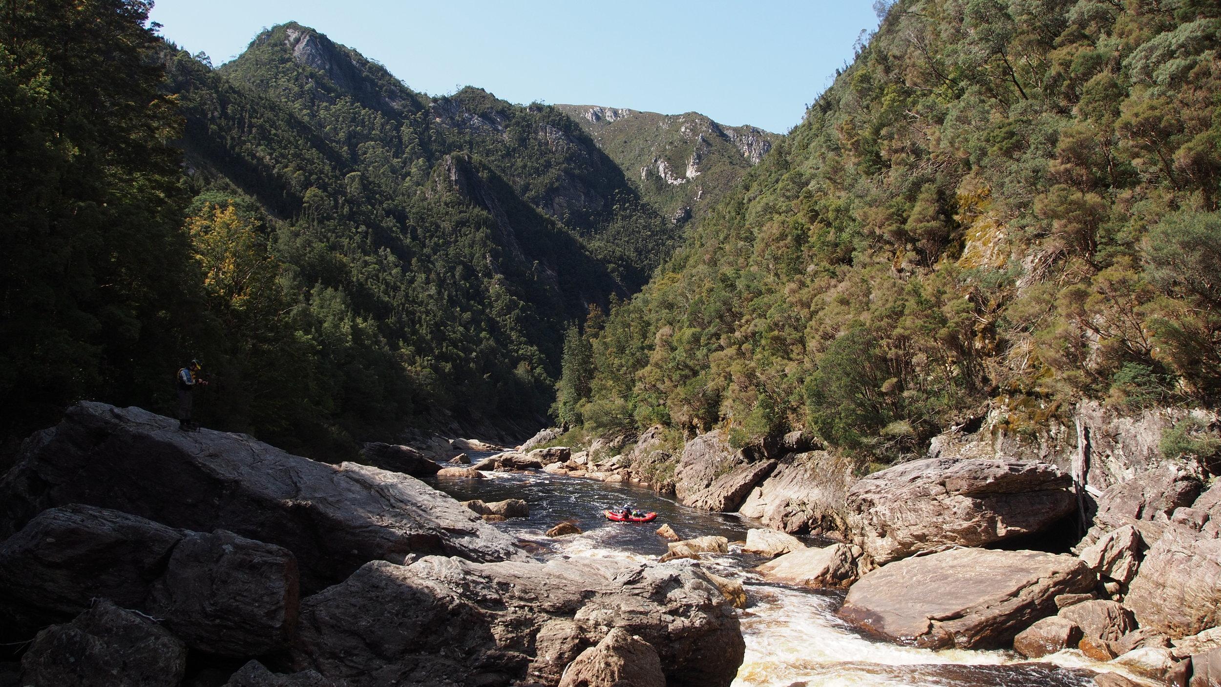Franklin River Canyon