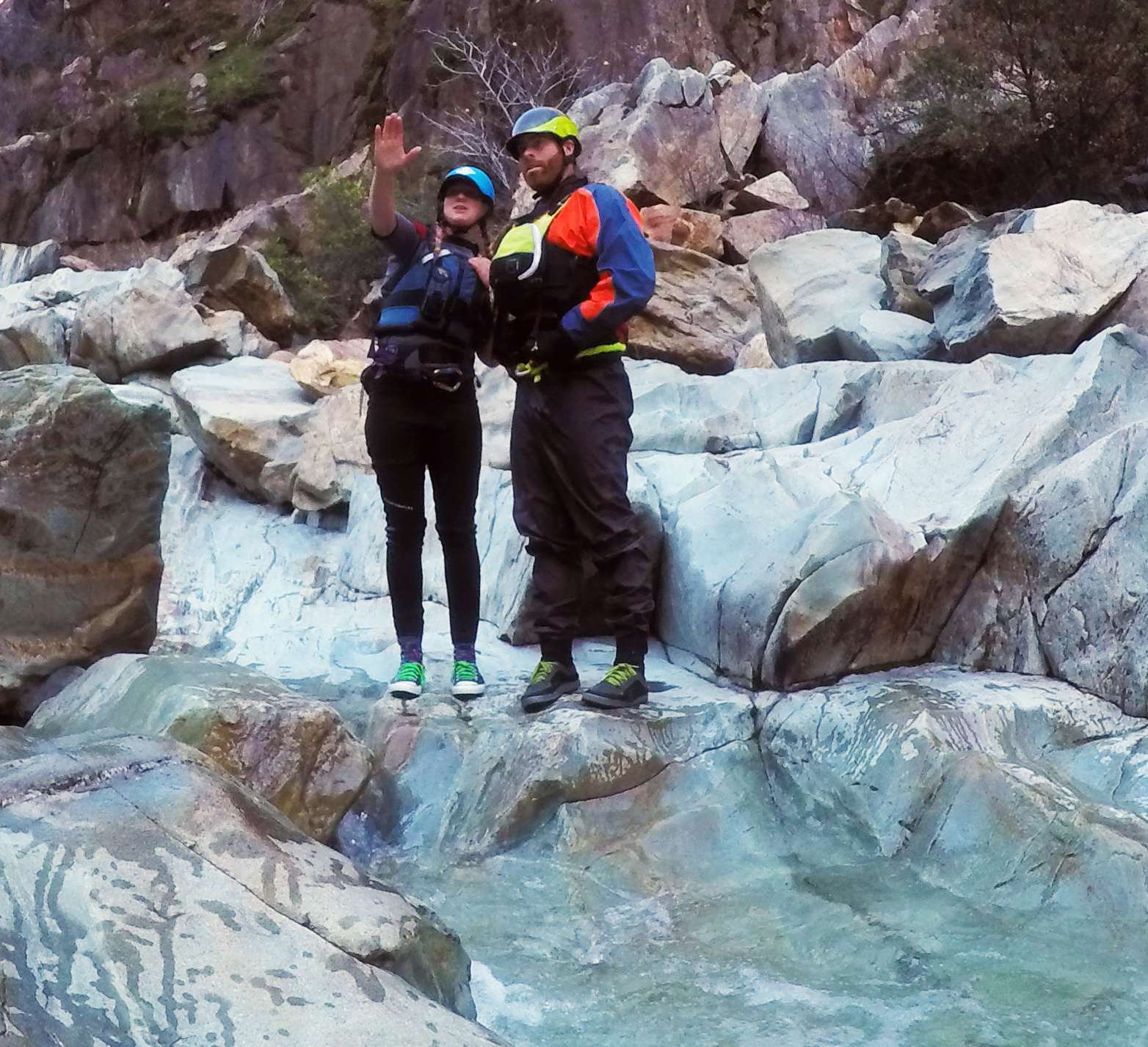 Evaluating Routes on the North Fork American RIver