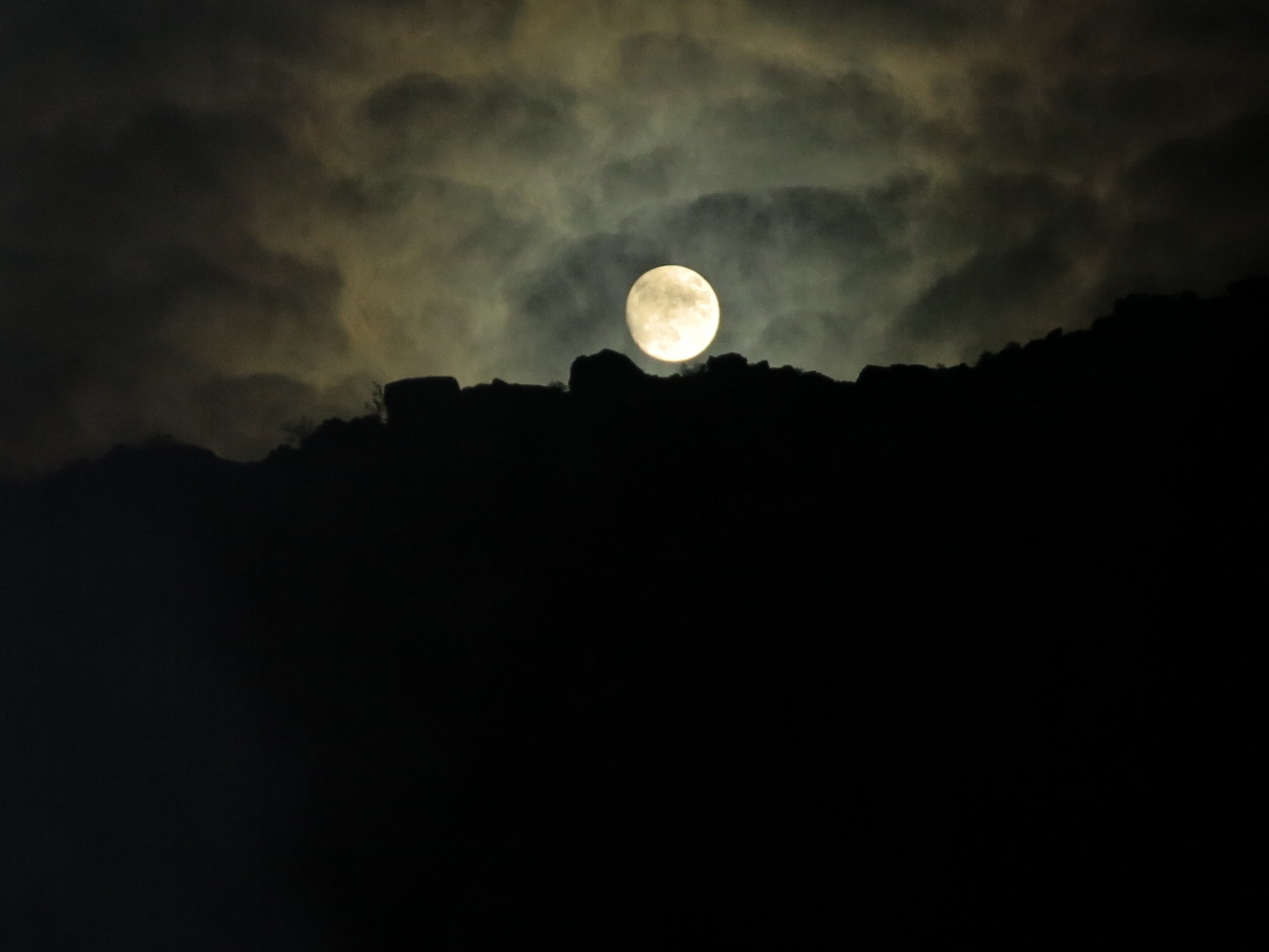 THis Photo was taken one night before our super moon float. On our night float there was not a cloud in the sky and the moon and the stars light up the canyon as we floated down to take out. An expereience I will not soon forget.