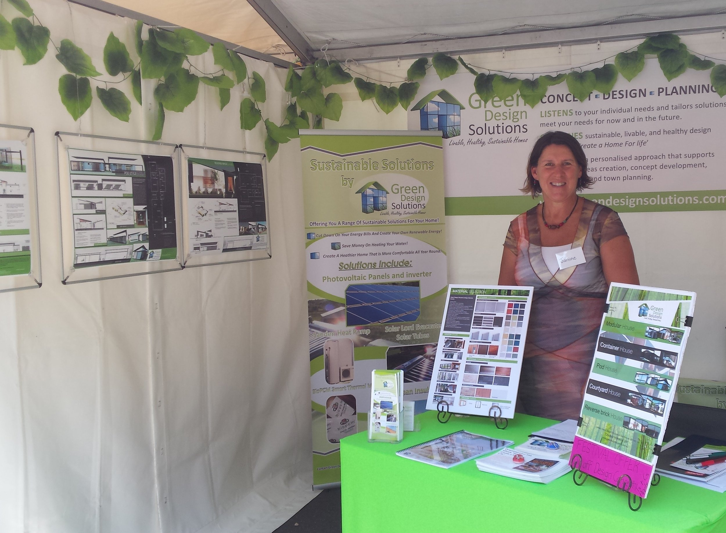 See Janine at Sustainable Living Festival - February 2020 at Birrarung Marr, Melbourne