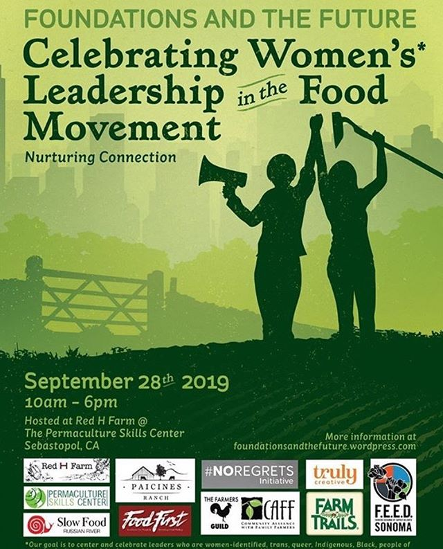 This is an awesome local event put on by some really great people. Check it out and help support local farming, women's leadership, and change.