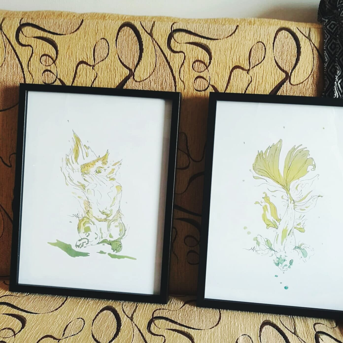 Love being sent pictures of them delivered and framed!