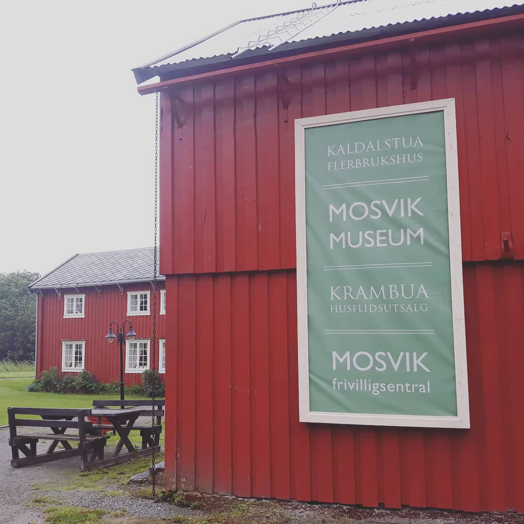 A permanent banner for the museum and other contributors.