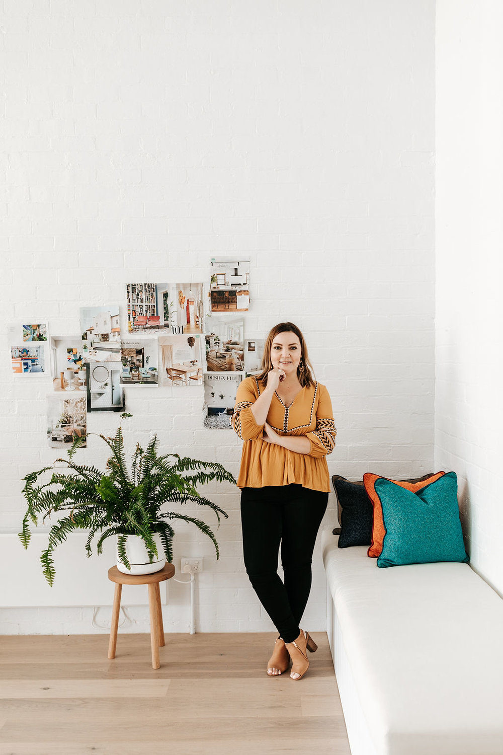 """""""I love meeting new people and getting to know their story and using this to create personalised spaces"""" - - Jess Viscarde"""