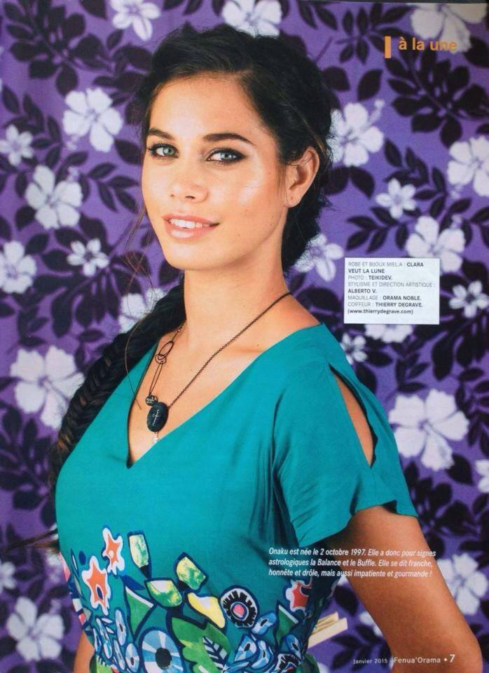 Fenua'Orama - January 2015 - On cover! Onaku Ellis