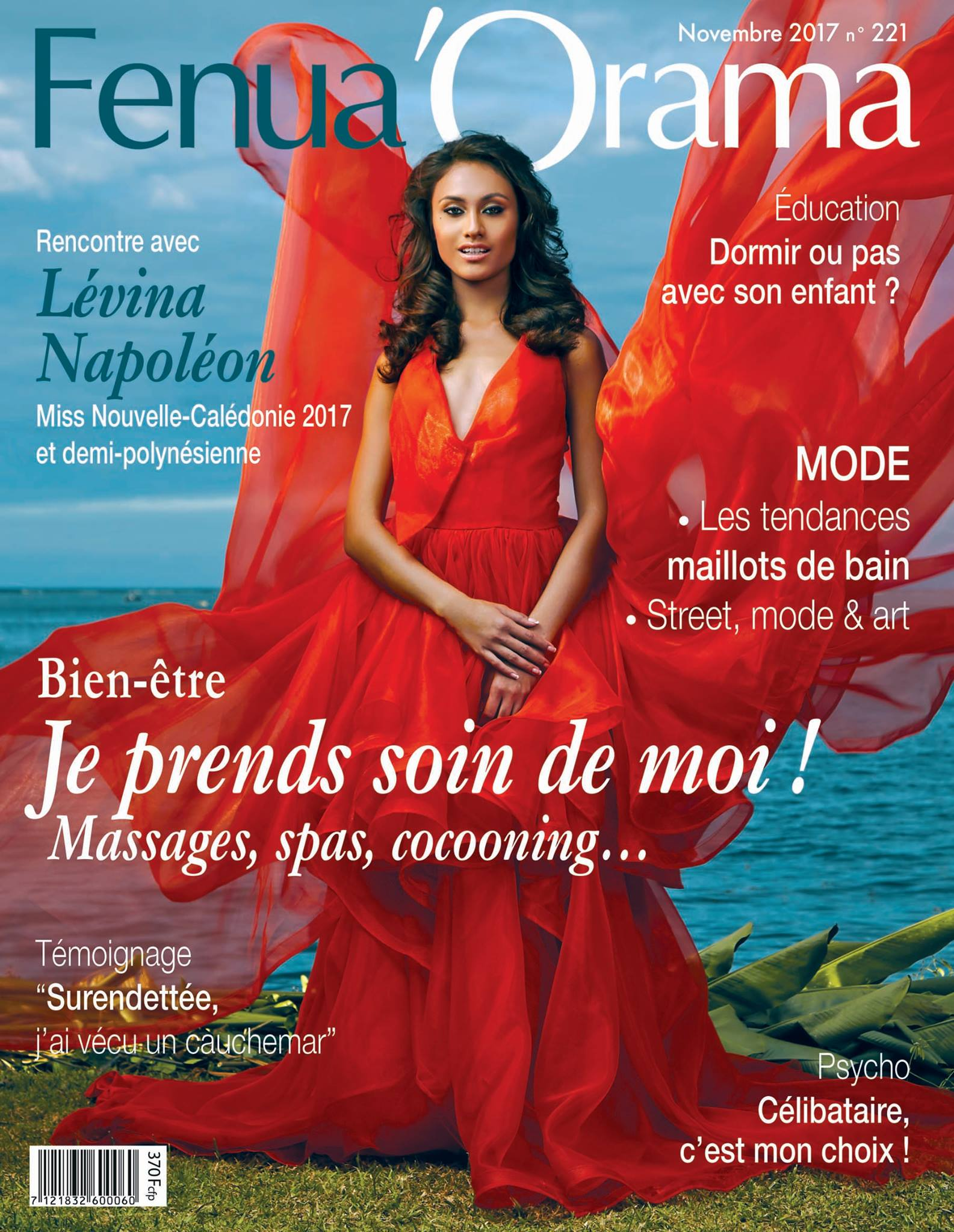 fenua'oramanovembre 2017 - Article based on the new wedding collection by Miel.A Tahiti Mademoiselle M p.13