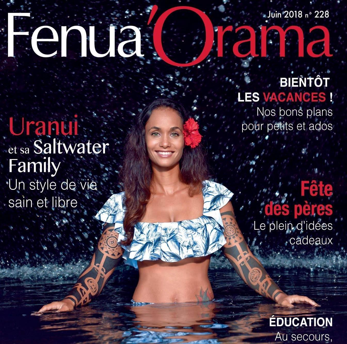 FENUA 'orama - june 2018 - Photoshoot Holiday's spiritMiel.A Tahiti jewelry