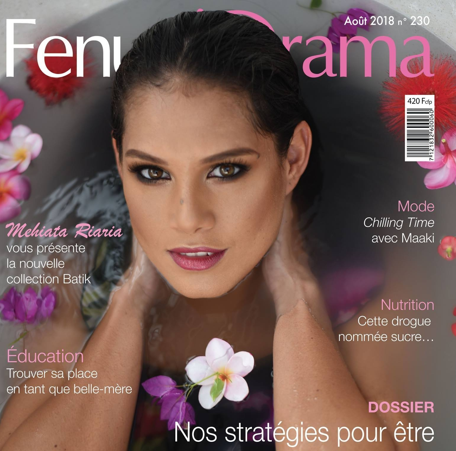 FENUA'ORAMA -AuGUST 2018 - New collection Tropical lace