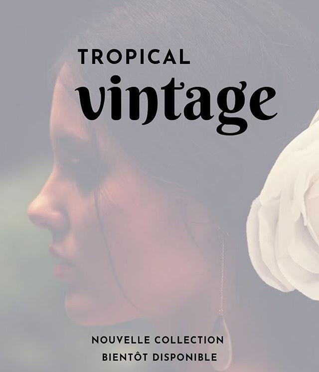 TROPICAL VINTAGE #nouvelle #collection #bientot #disponible #bijoux #handmade #tahiti #nacre #gold #vintage #mielatahiti #dentelletropicale #bijouxcréateur